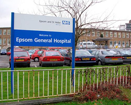 Epsom Hospital is due to merge with Ashford and St Peters