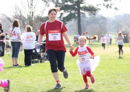 Pictures from the Sport Relief mile in Nonsuch Park on March 25, 2012.