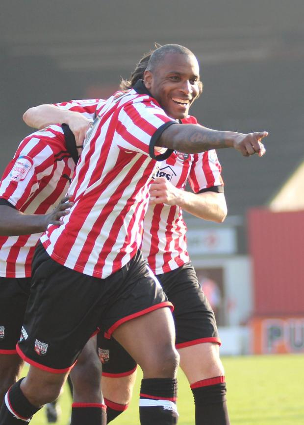 key man: Brentford loan star Clinton Morrison