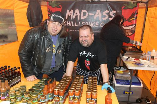 David Etheridge and Anthony Walker of Mad-Ass Chilli sauce
