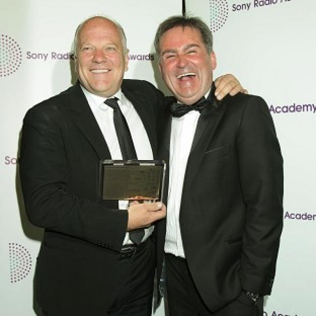 Andy Gray and Richard Keys with their Best Sports Programme award