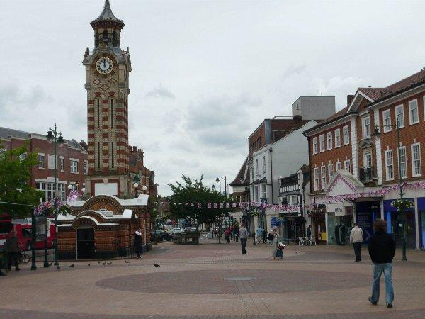 "Chris Grayling said he does not want the historic market town of Epsom to ""become like Sutton"""
