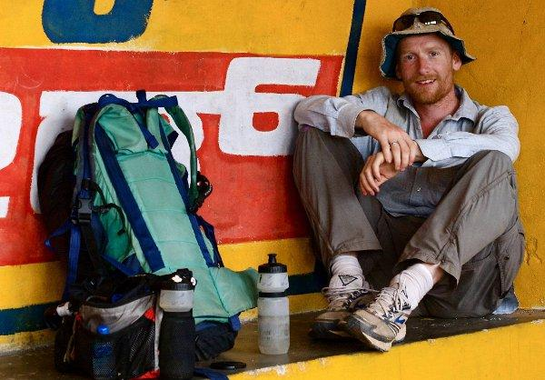 Alastair Humphreys spent four years cycling 46,000 miles