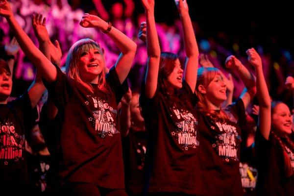 Voice in a Million choir comes to Croydon