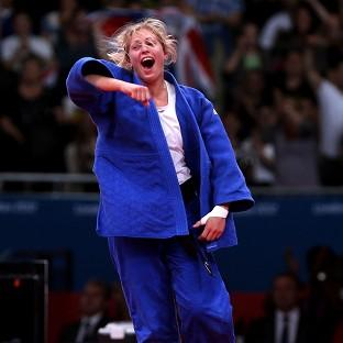 Gemma Gibbons is through to the final of the women's -78kg judo