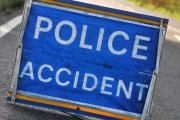 Driver in critical condition after two lorries collide in Ewell