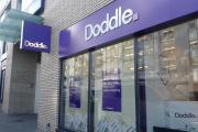 The new Doddle shop in the Epsom station development