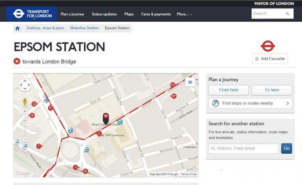 TfL slammed for misleading commuters on Epsom London travel zone – London Travel Zone Map