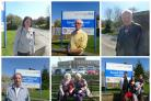 Patients interviewed outside Epsom Hospital this afternoon