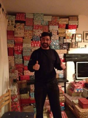 Epsom Guardian: West Ewell homeless helper launches shoebox appeal to help London's rough sleepers this Christmas