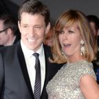 Epsom Guardian: Cheeky Ben Shephard pulled fully-clothed Kate Garraway into an ice bath on GMB