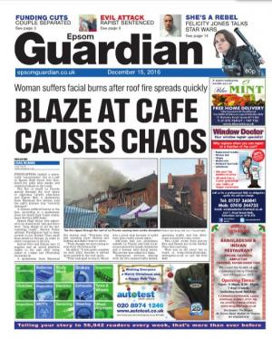 Epsom Guardian: The e-newspaper is your weekly copy of your favourite local newspaper delivered to your inbox. Sign up for free here >