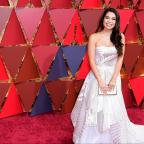 Epsom Guardian: Auli'i Cravalho battles through Oscars performance despite being hit by flag