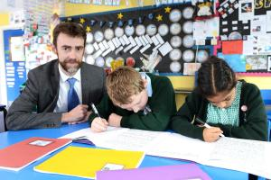Justin Kelly launched the petition to make SATs 'fairer'