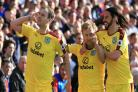 Burnley see off Crystal Palace for first away win of season