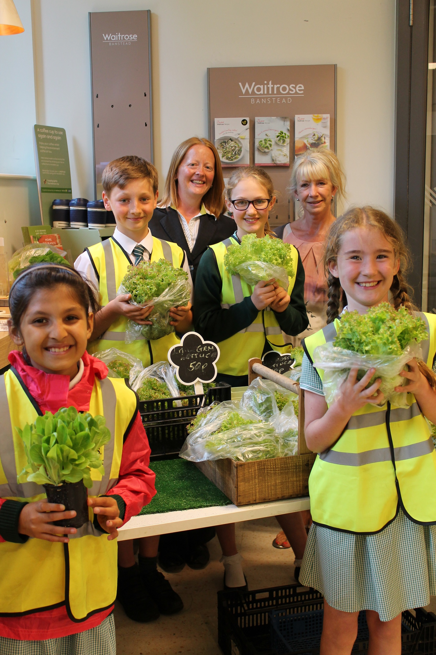 Bcjs waitrose sow and sell project comes to fruition epsom guardian izmirmasajfo