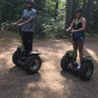 Epsom Guardian: Forest Segway through picturesque Black Park in Buckinghamshire