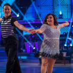 Epsom Guardian: EMBARGOED TO 2020 SATURDAY OCTOBER 21 For use in UK, Ireland or Benelux countries only Undated BBC handout photo of Susan Calman and her dance partner Kevin Clifton during dress rehearsals for the live show of the BBC1 dance contest, Strictly Come Dancing