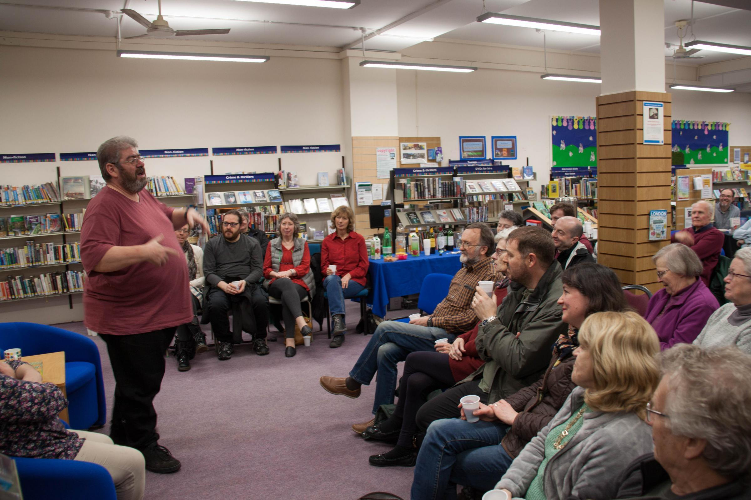 Ben Aaronovitch's Q&A session