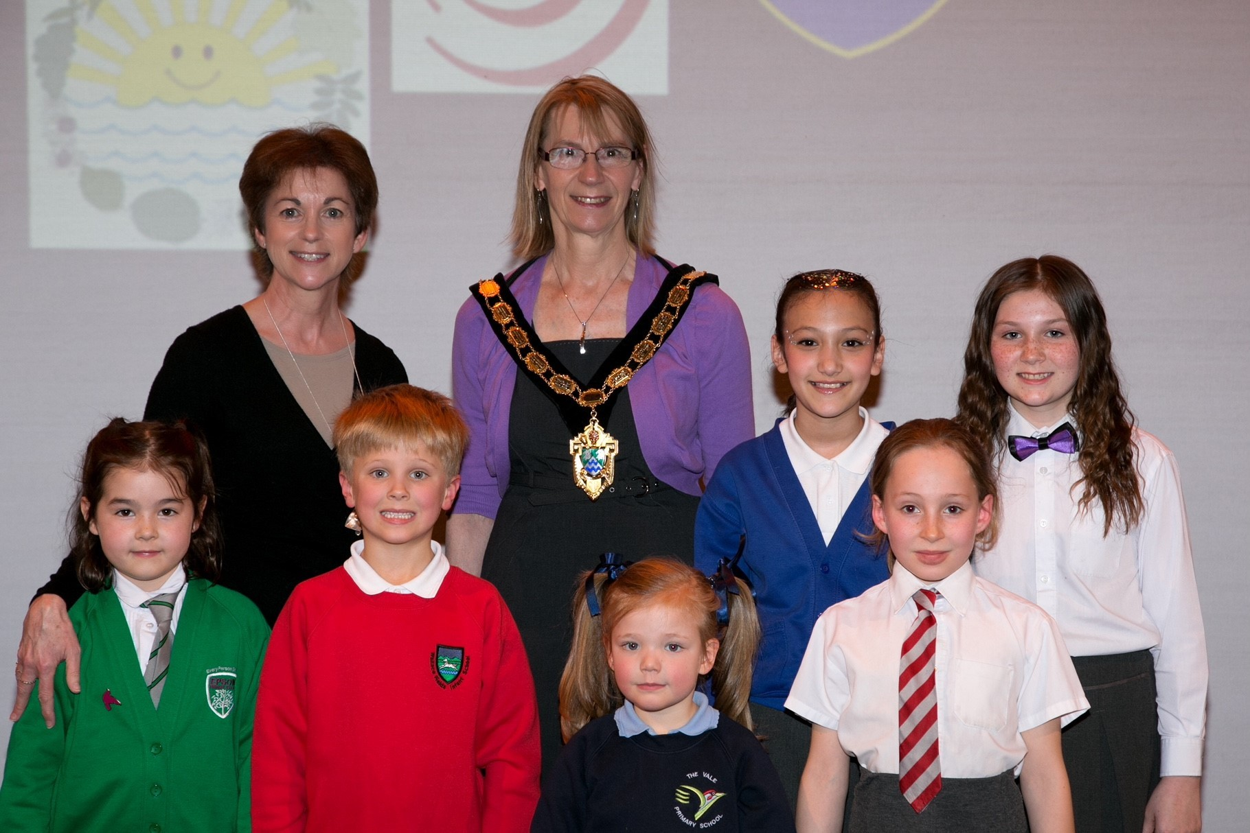 The Mayor of Epsom & Ewell attending the schools music festival