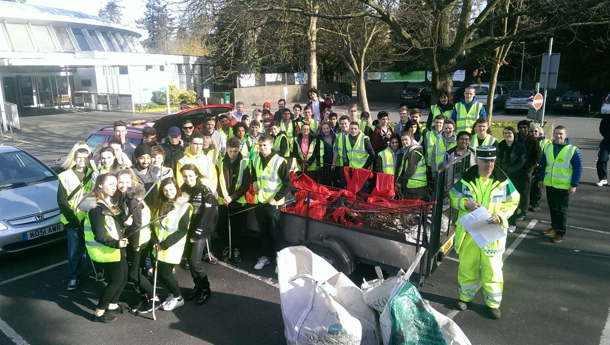 Ewell Village Association's spring-clean 2015