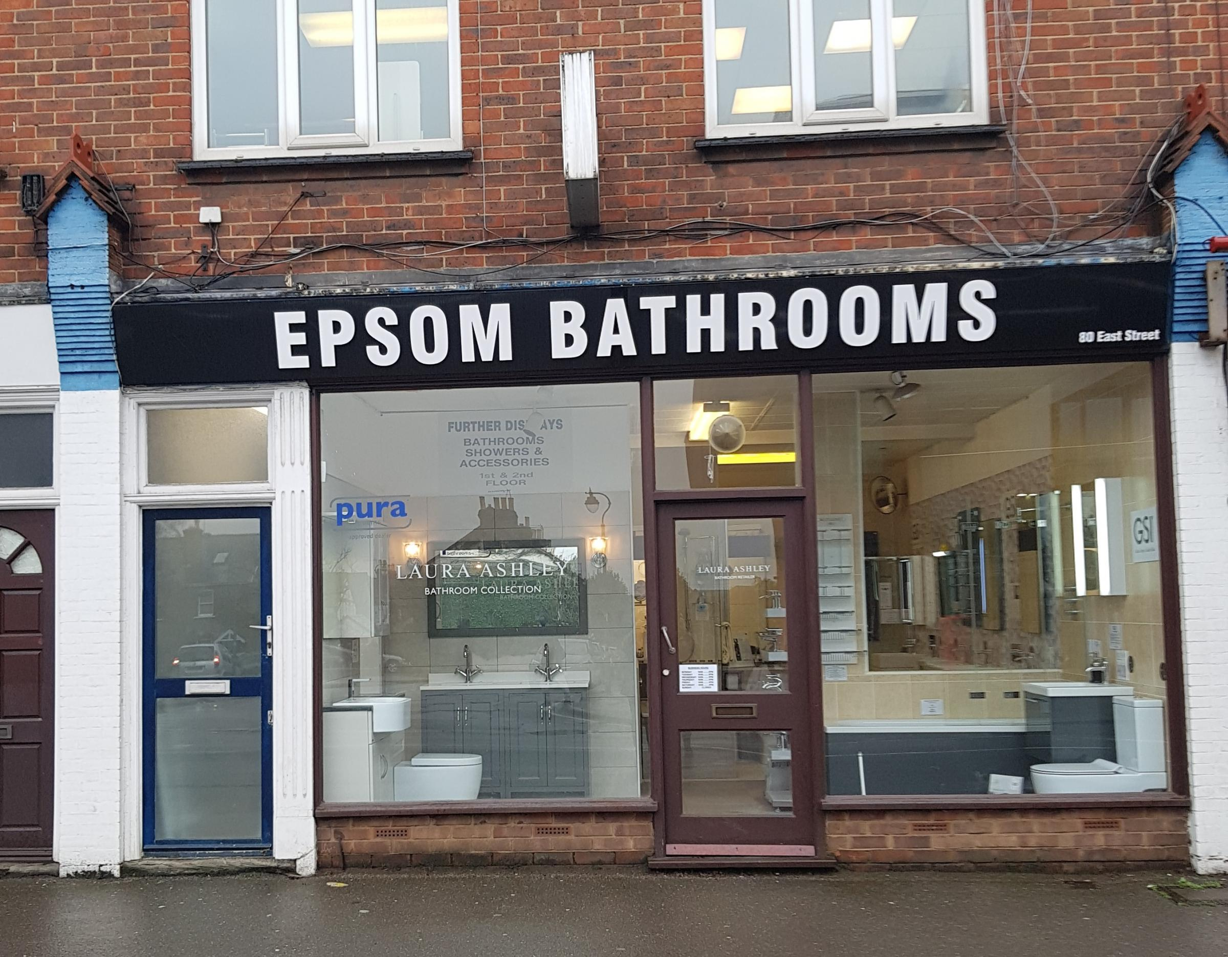 A unit located next to Epsom Bathrooms could be converted into flats