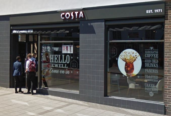 Costa Coffee in Ewell Village