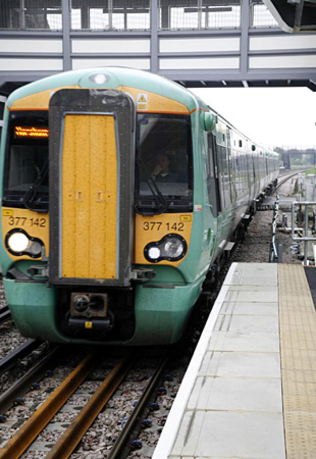 People travelling on Southern trains are being told to expect delays of up to 40 minutes.